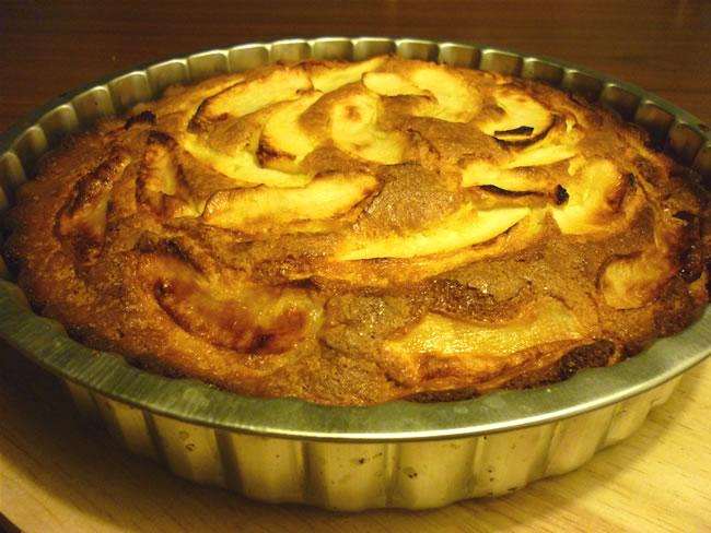 Torta di mele col Bimby